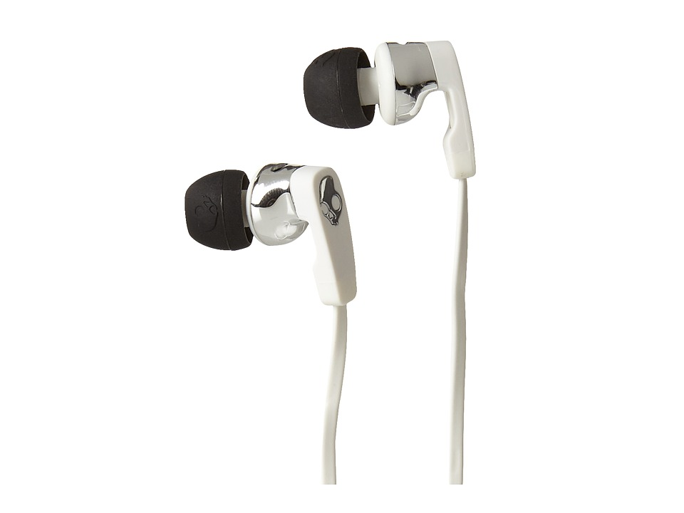 Skullcandy - Strum (White/Black/Chrome) Headphones