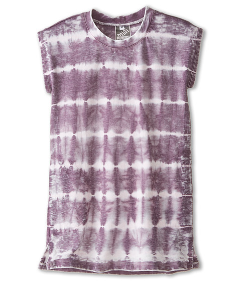 Young Fabulous & Broke Mini - Kenzi Dress Skinny Stripe (Little Kids/Big Kids) (Plum) Girl's Dress