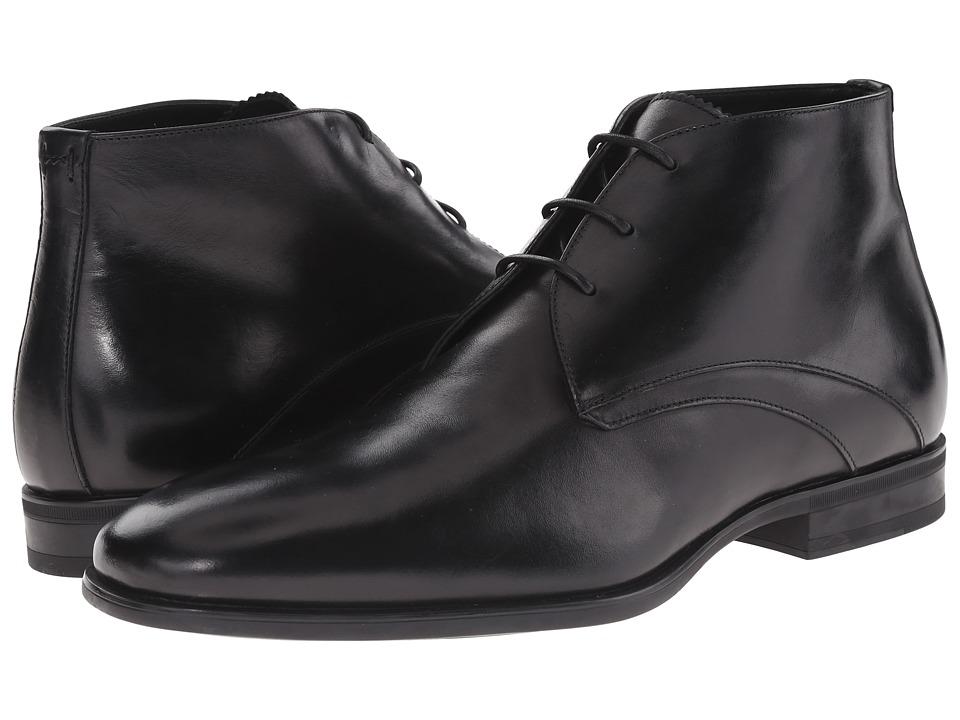 Aquatalia - Ace (Black Dress Calf) Men's Dress Lace-up Boots