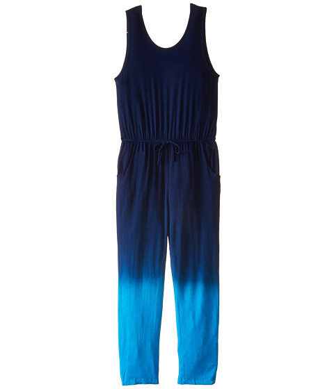 Young Fabulous & Broke Mini - Gracie Jumpsuit Ombre (Little Kids/Big Kids) (Blue) Girl