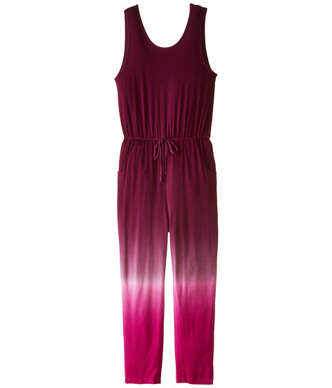 Young Fabulous & Broke Mini - Gracie Jumpsuit Ombre (Little Kids/Big Kids) (Magenta) Girl's Jumpsuit & Rompers One Piece