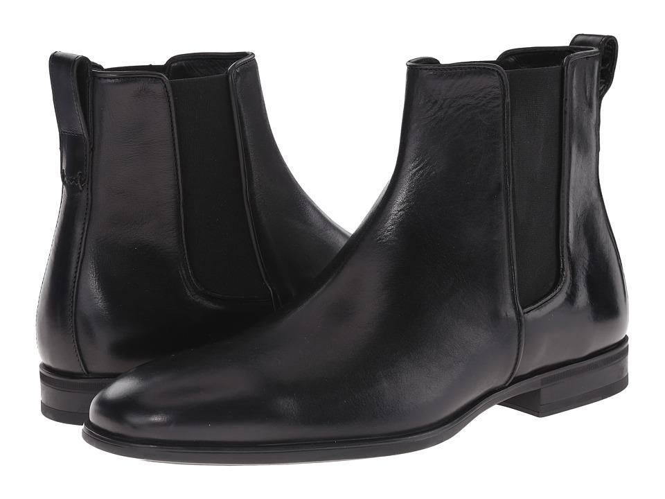 Aquatalia - Adrian (Black Dress Calf) Men's Pull-on Boots