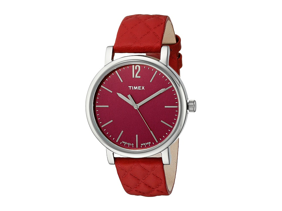 Timex - Original Matelasse (Red) Watches
