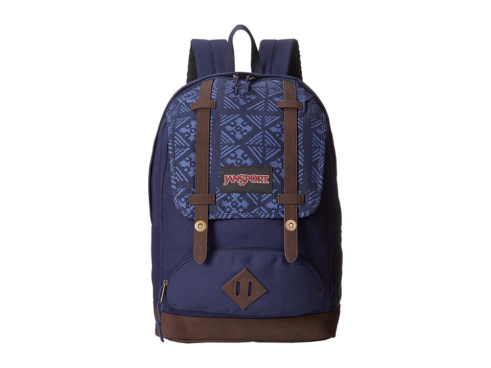 JanSport - Baughman (Navy Moonshine) Backpack Bags