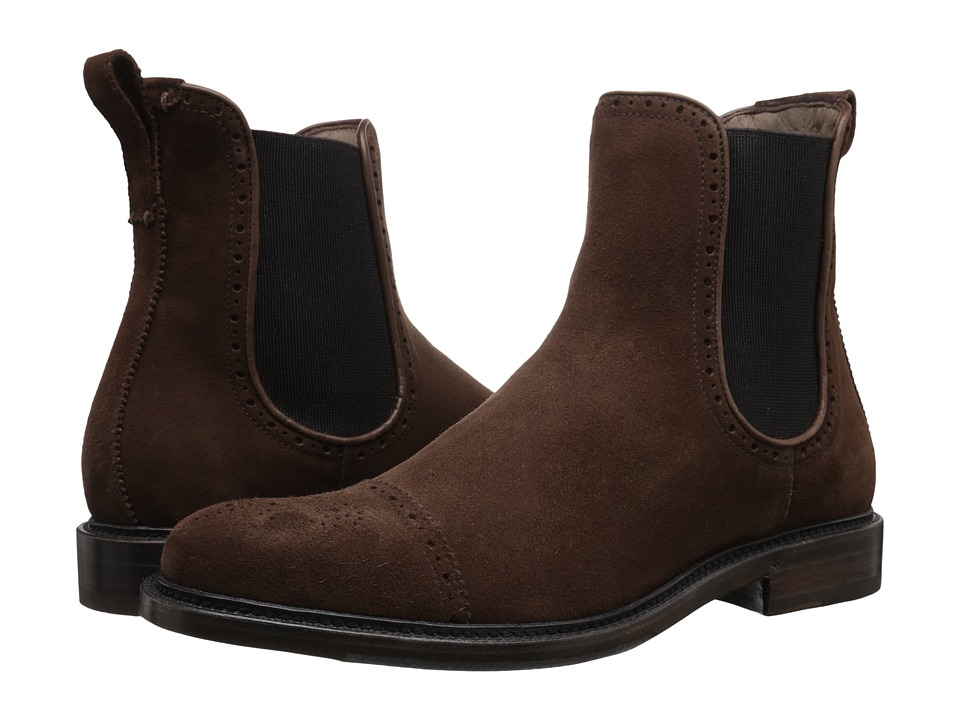 Aquatalia - Freddy (Brown) Men's Pull-on Boots