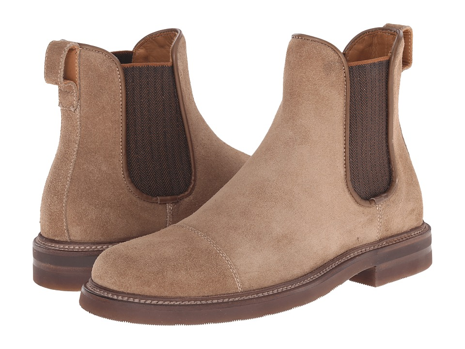 Aquatalia - Philip (Medium Brown) Men's Pull-on Boots