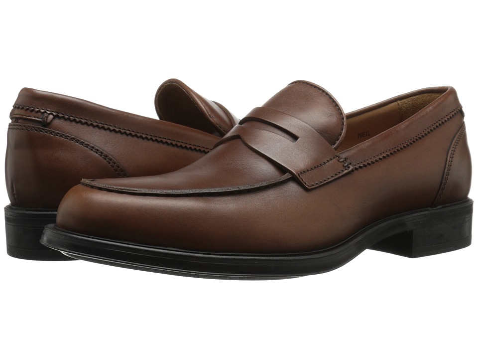 Aquatalia - Neil (Nut) Men's Slip-on Dress Shoes