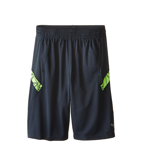 Puma Kids - Prism Shorts (Big Kids) (Charcoal) Boy
