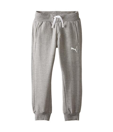Puma Kids - Active Pants (Little Kids) (Medium Grey Heather) Girl's Casual Pants