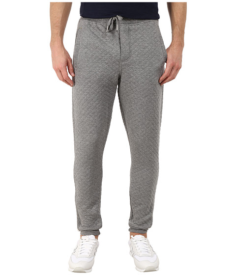 Request - Quilted Jogger Pants (Heather Grey) Men