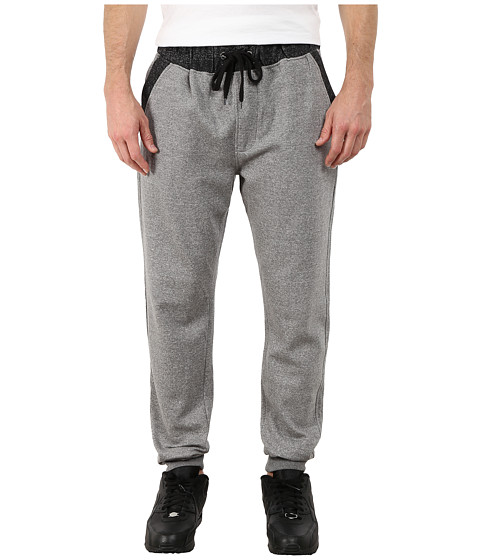 Request - Two-Fabric Jogger Pants (Grey) Men