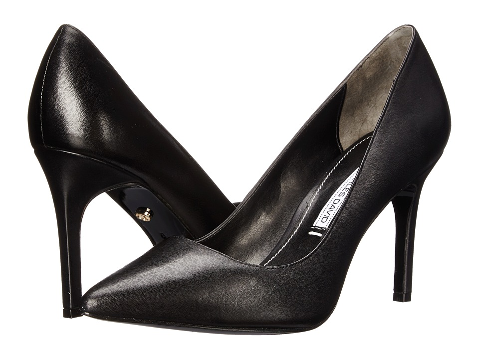 Charles by Charles David Donnie (Black Leather) High Heels