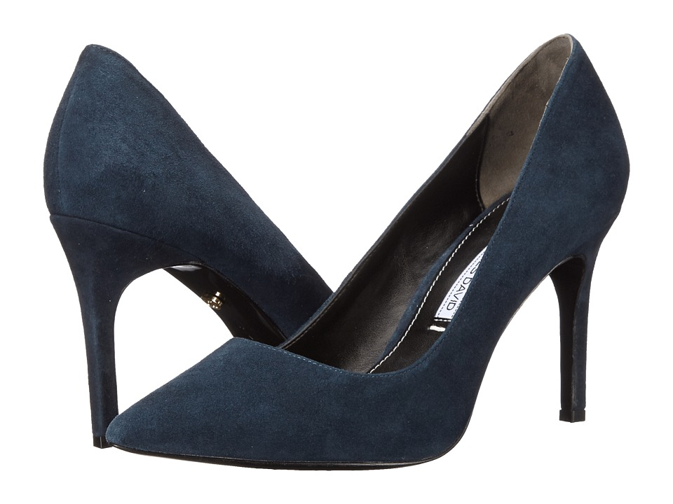 Charles by Charles David Donnie (Navy Suede) High Heels