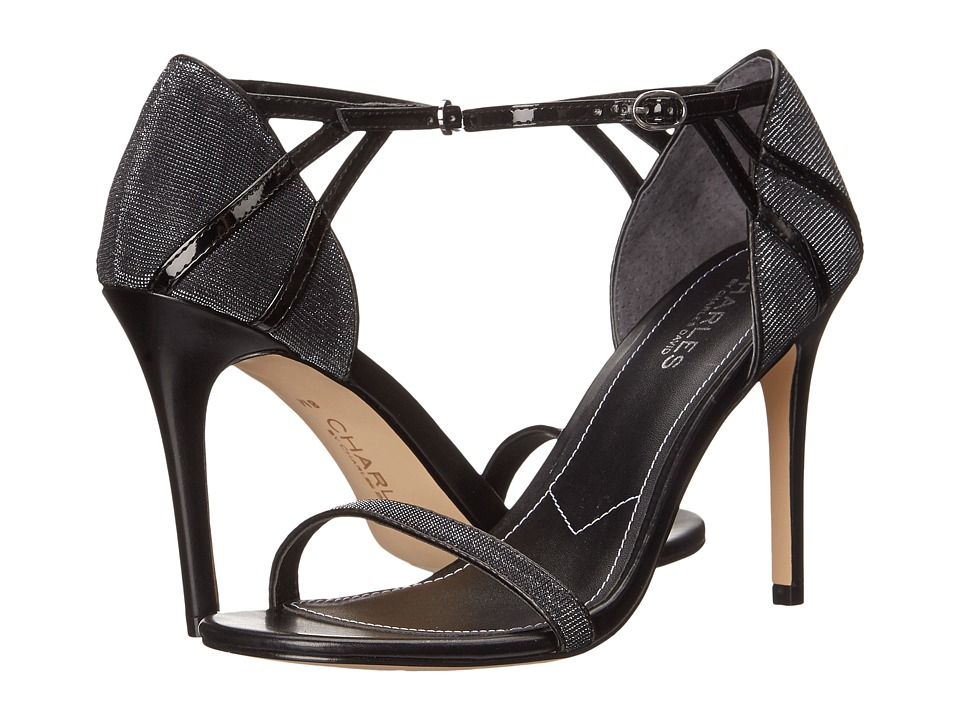 Charles by Charles David - Ricky (Black/Silver Glitter) Women's Shoes