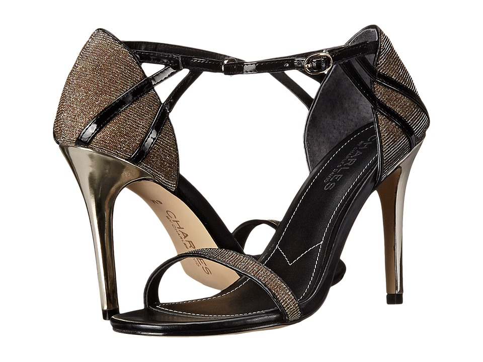 Charles by Charles David - Ricky (Black/Gold Glitter) Women's Shoes