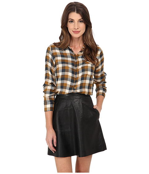 Lucky Brand - Bungalow Plaid (Brown Multi) Women