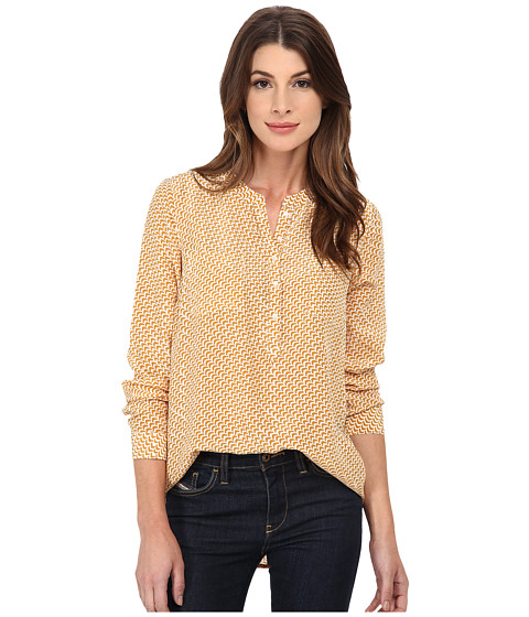 Lucky Brand - Ditzy Bird Top (Yellow Multi) Women's Clothing