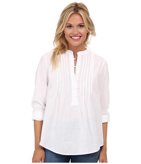 Lucky Brand - White Peasant Shirt (Lucky White) Women