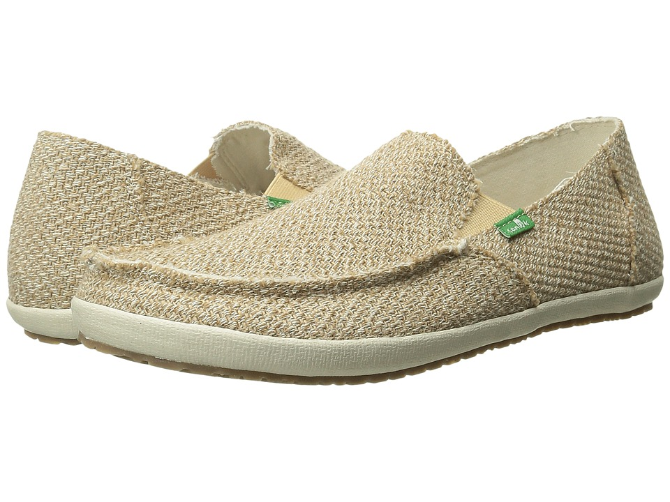 Sanuk - Rounder Hobo Hemp (Natural Hemp) Men's Slip on Shoes
