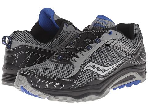 Saucony - Excursion TR9 (Grey/Black) Men's Running Shoes