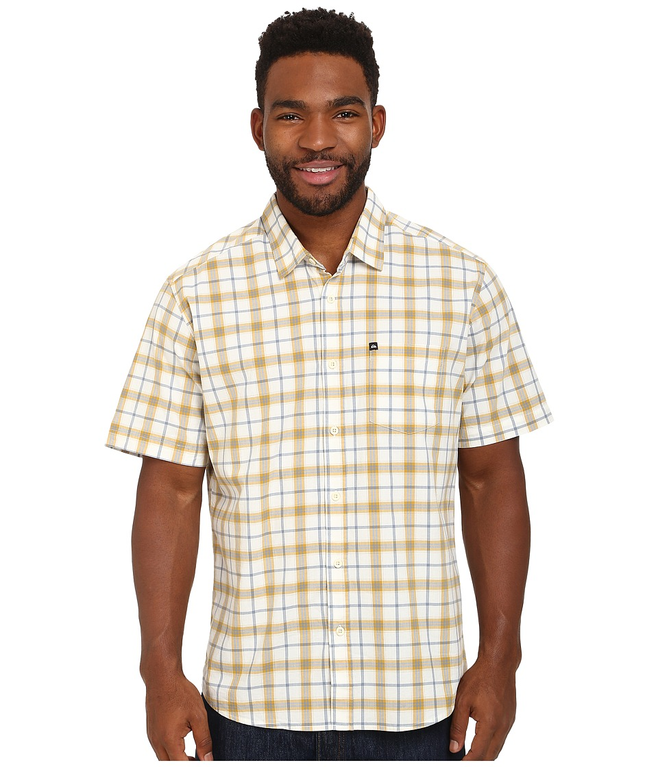 Quiksilver - Everyday Check Woven Top (Golden Spice) Men