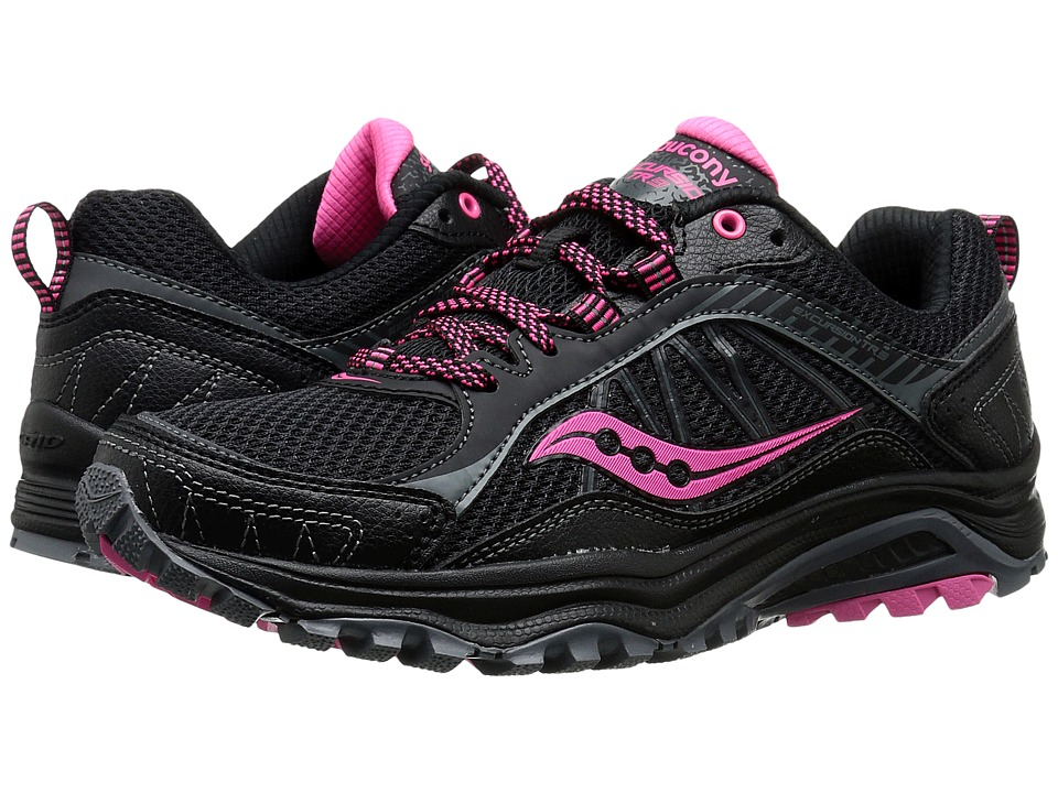 Saucony - Excursion TR9 (Black/Pink) Women's Running Shoes