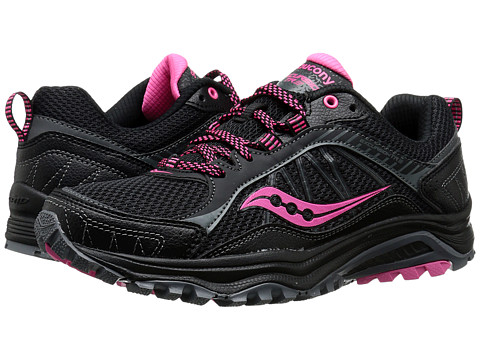 Saucony - Excursion TR9 (Black/Pink) Women