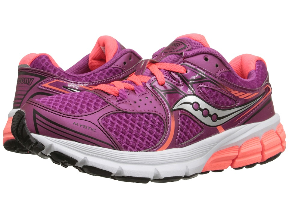 Saucony - Mystic (Fuchsia/Coral) Women's Running Shoes