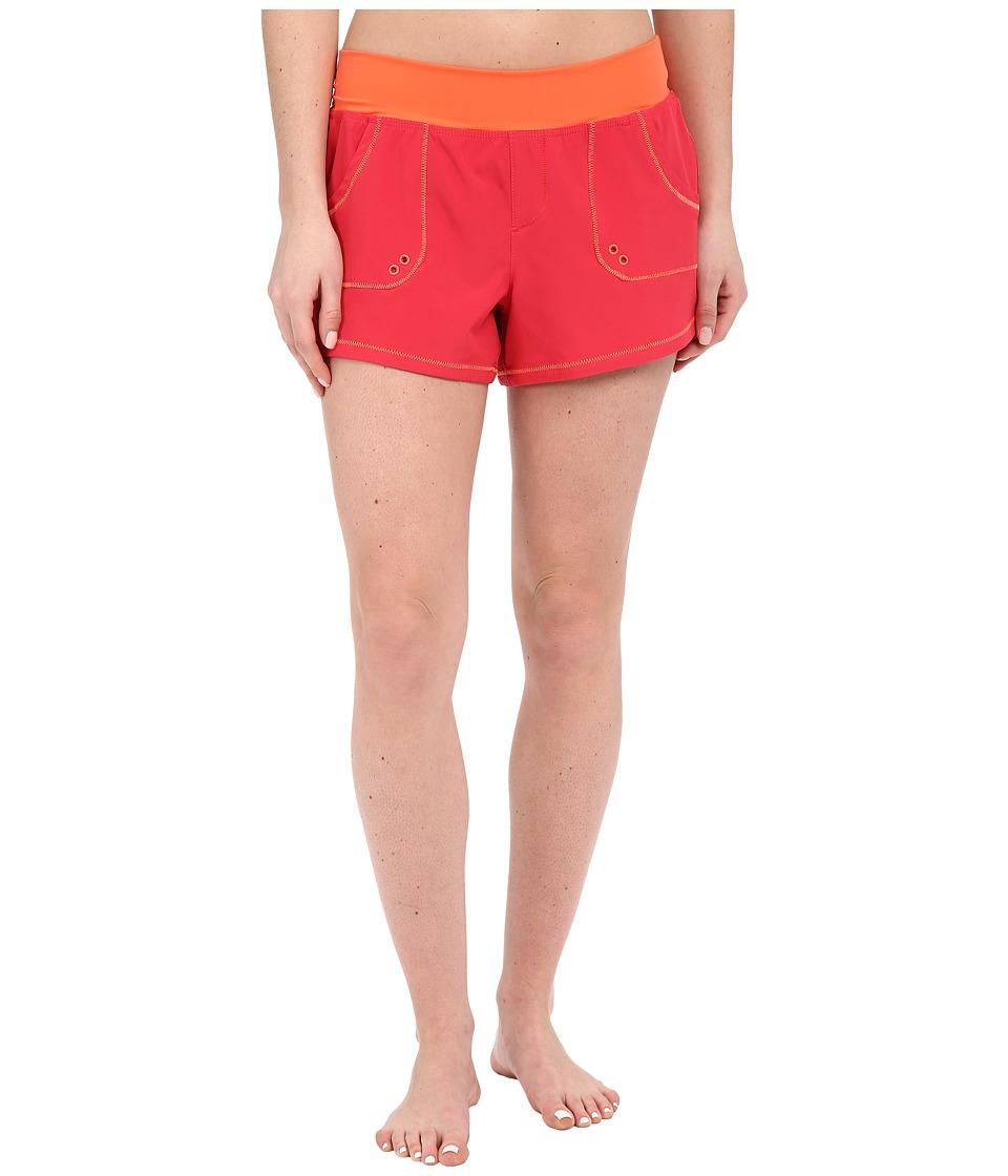 Prana - Millie Boardshort (Azalea) Women's Swimwear