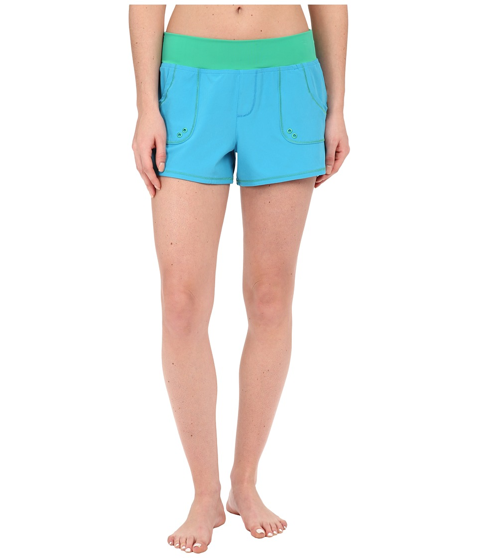 Prana - Millie Boardshort (Vivid Blue) Women's Swimwear