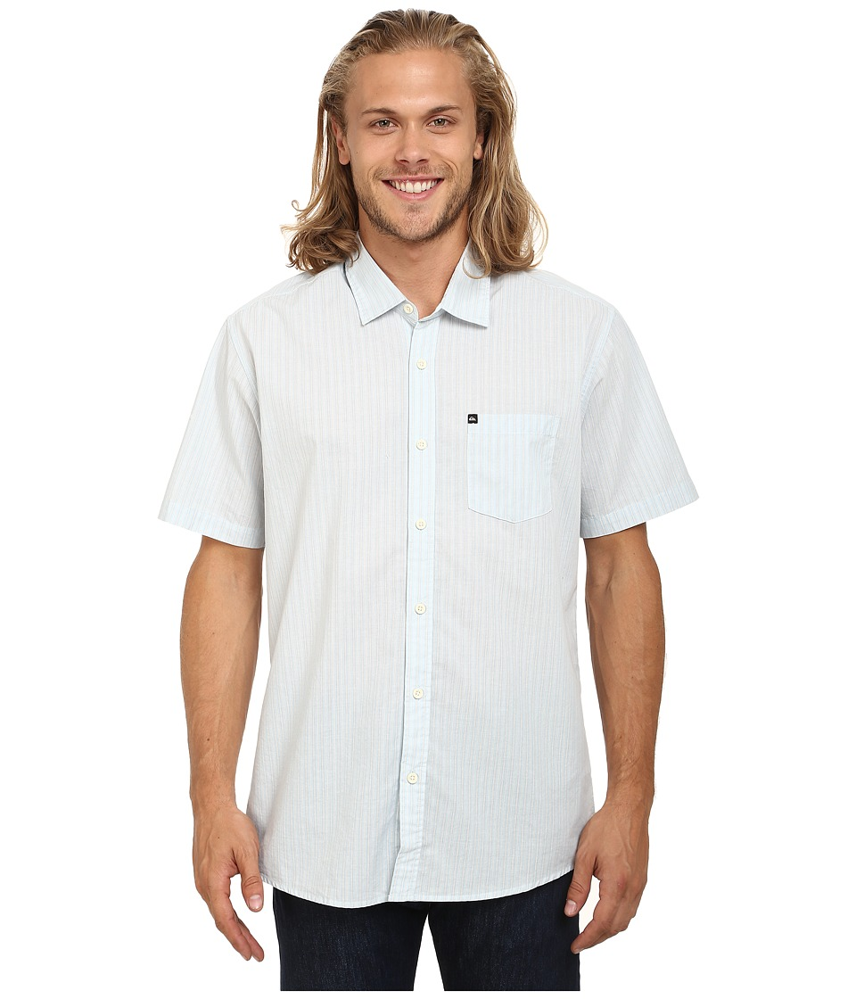 Quiksilver - Everyday Stripe Woven Top (Angel Falls) Men's Clothing