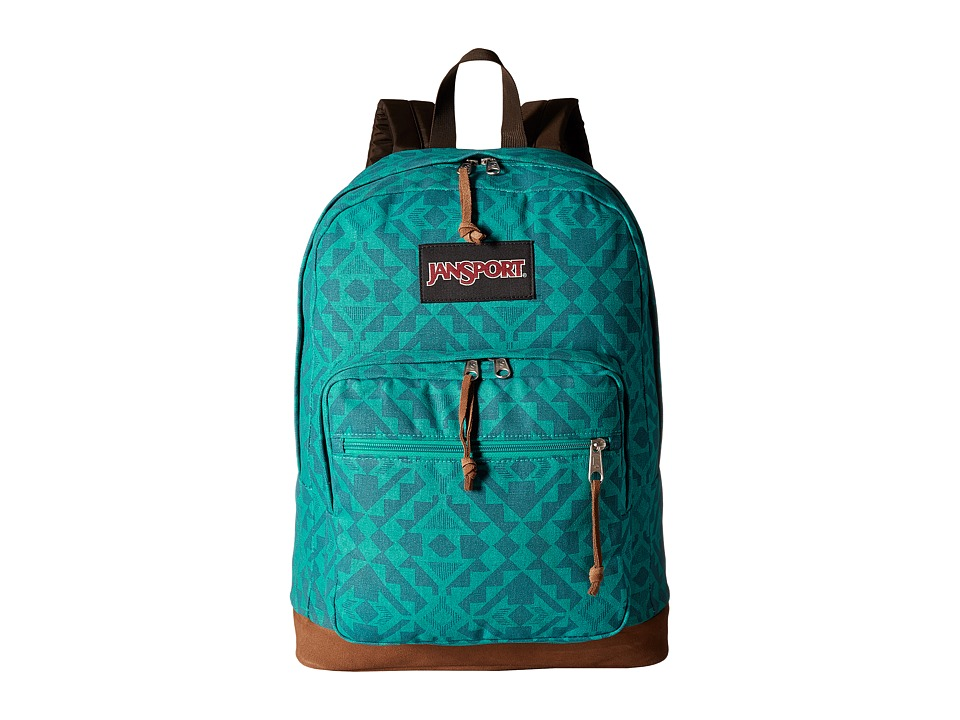 JanSport - Right Pack Expressions (Moonlight Teal Canvas) Backpack Bags