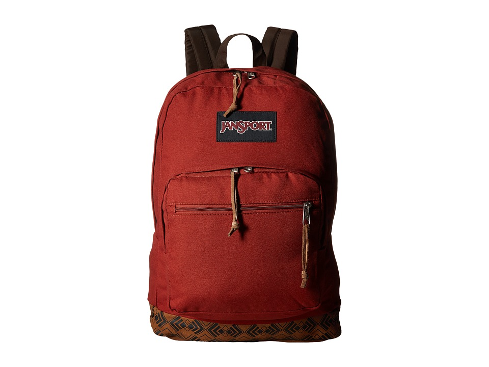 JanSport - Right Pack Expressions (Burnt Henna Ortenzi) Backpack Bags