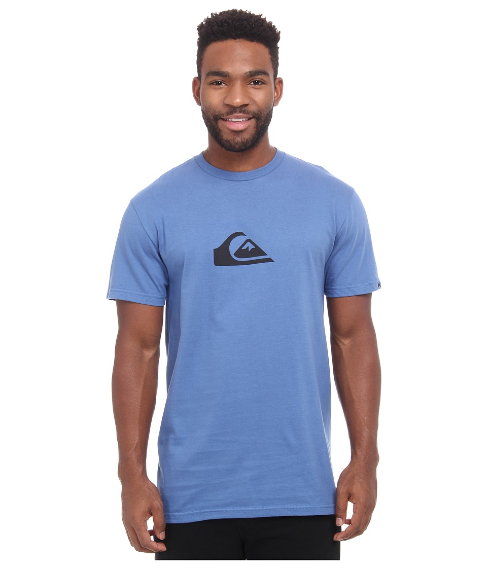 Quiksilver - Everyday Logo Tee (Federal Blue) Men's T Shirt