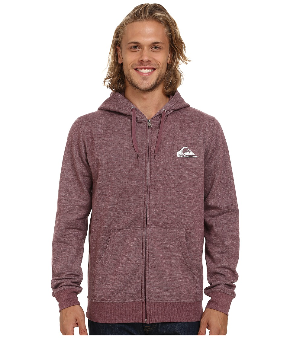 Quiksilver - Everyday Zip (Plum Wine) Men's Clothing
