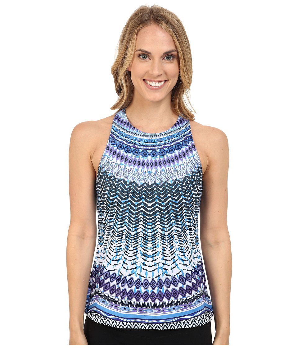 Prana - Boost Printed Top (Peri Sol) Women's Sleeveless