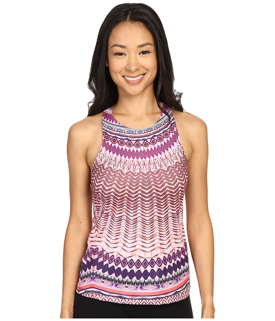 Prana - Boost Printed Top (Violet Sol) Women's Sleeveless