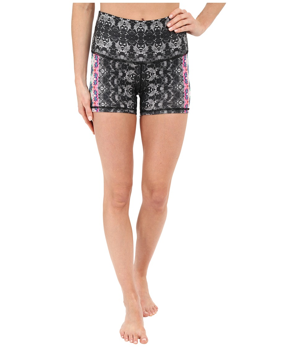 Prana - Luminate Shorts (Black Hydrobloom) Women's Shorts