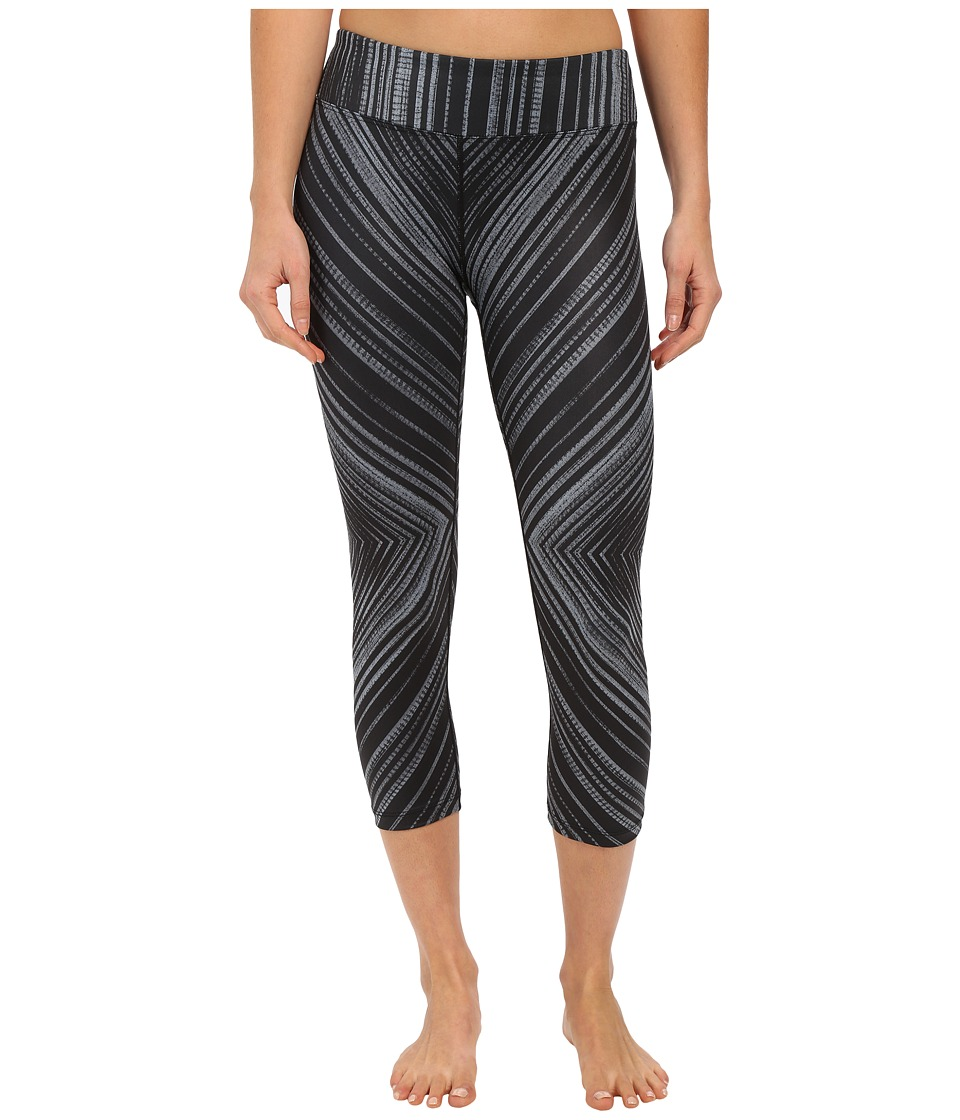 Prana Roxanne Capri (Black Stripe) Women