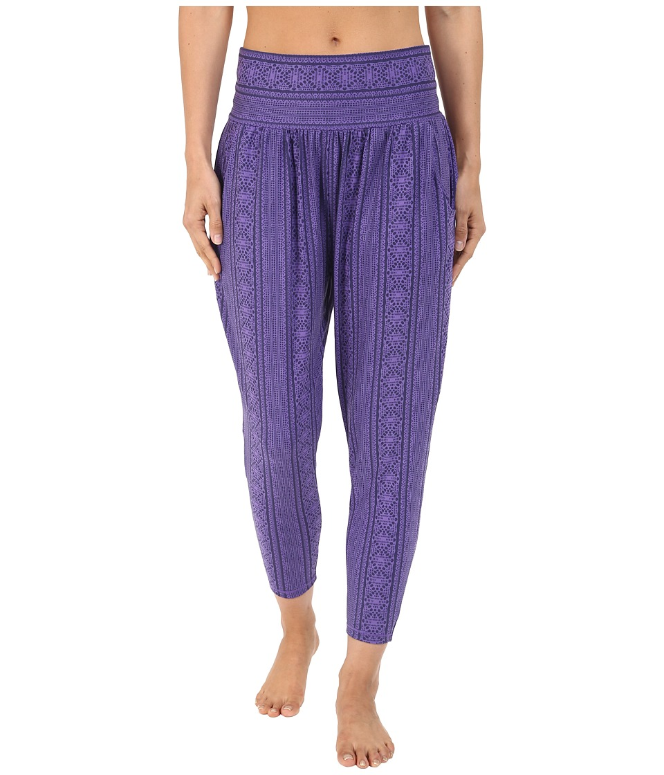 Prana - Ryley Crop (Indigo Lace) Women's Capri