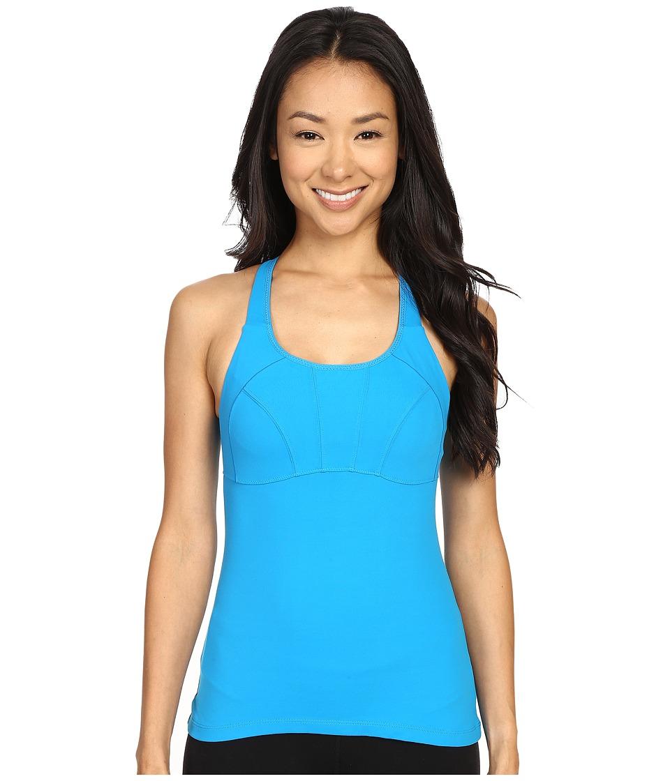 Prana - Willa Top (Electro Blue) Women's Sleeveless