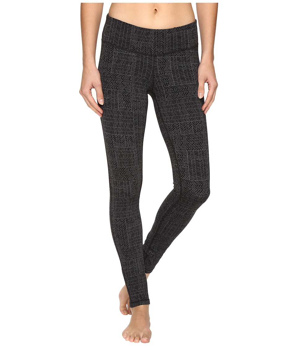 Prana - Ashley Leggings (Black Geo) Women's Casual Pants