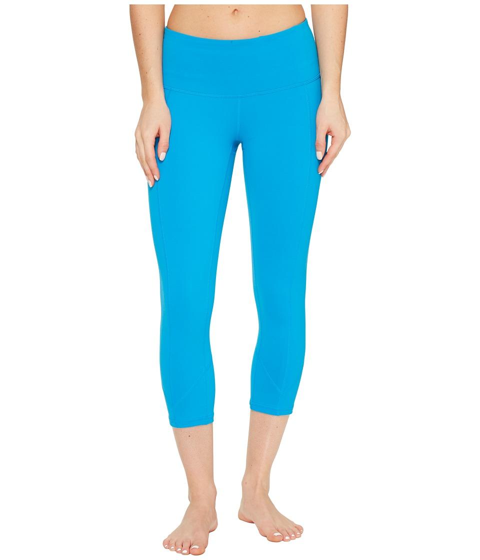 Prana - Prism Capri (Electro Blue) Women's Capri