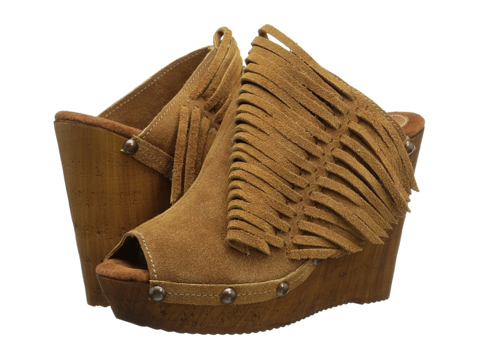 Sbicca - Pitch (Tan) Women's Wedge Shoes