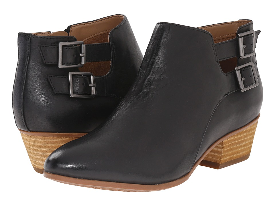 Clarks - Spye Astro (Black Leather) Women's Shoes