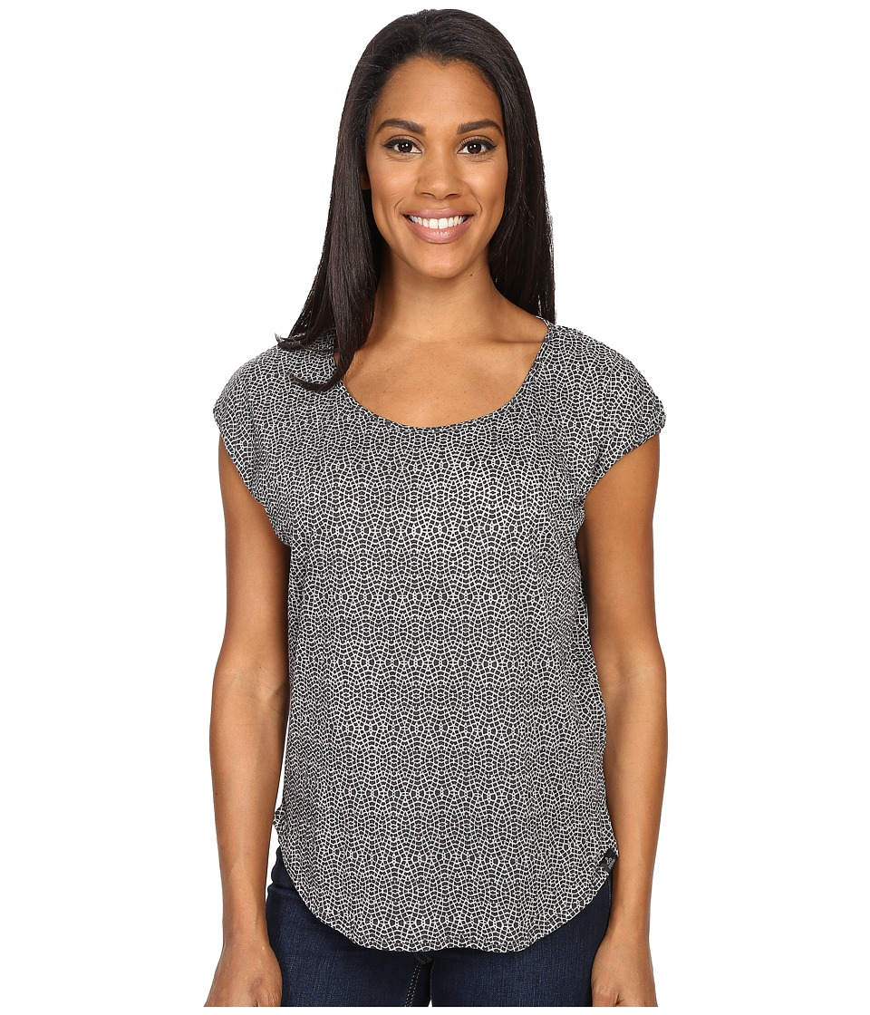 Prana - Tandi Top (Black 2) Women's Short Sleeve Pullover