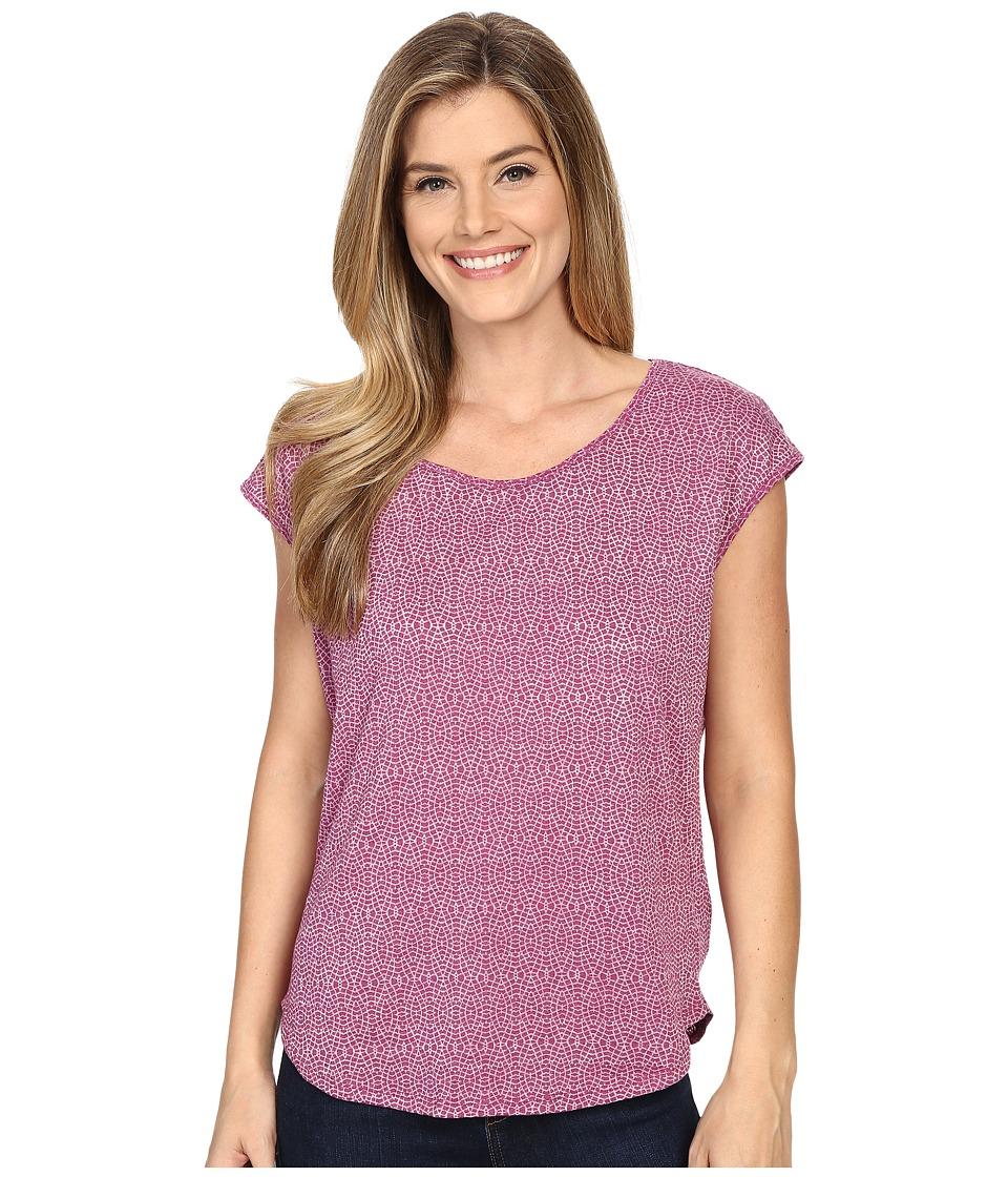 Prana - Tandi Top (Rich Fuchsia) Women's Short Sleeve Pullover