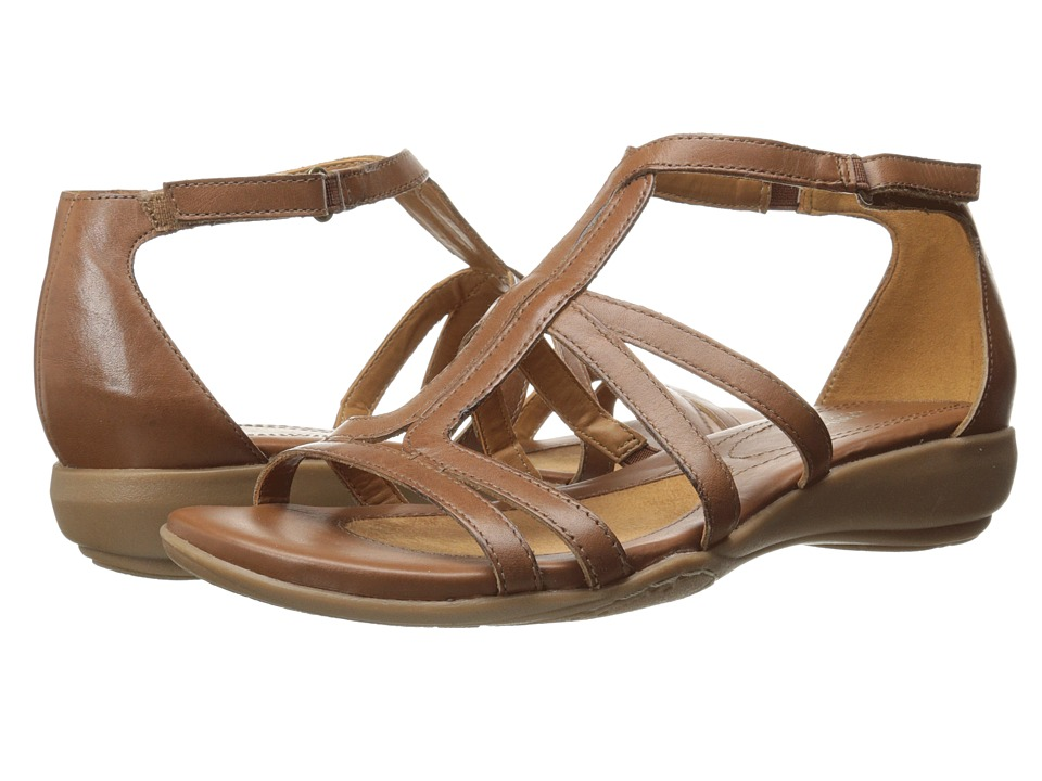 Naturalizer - Colleen (Saddle Tan) Women's Toe Open Shoes