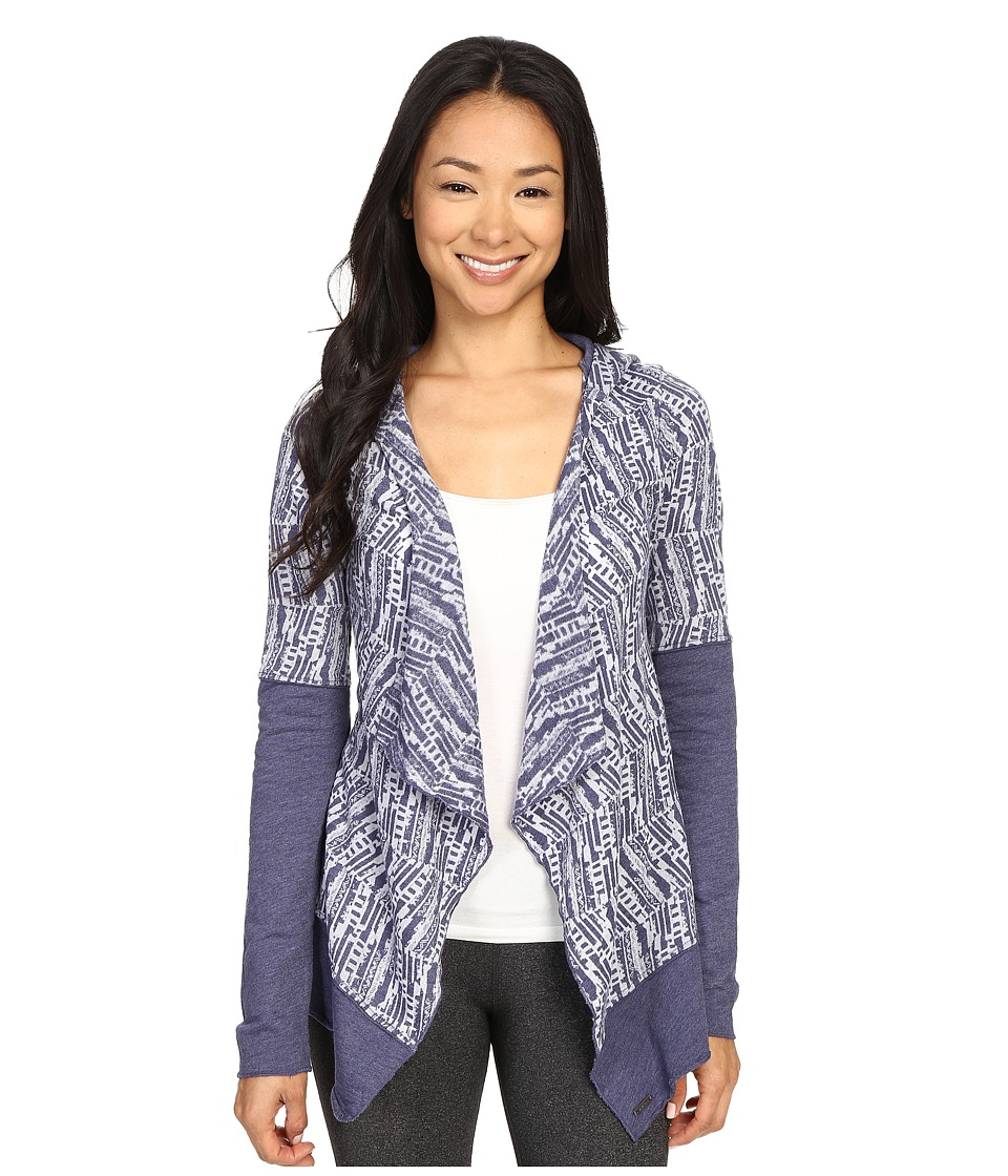 Prana - Graceful Wrap (Indigo) Women's Sweater