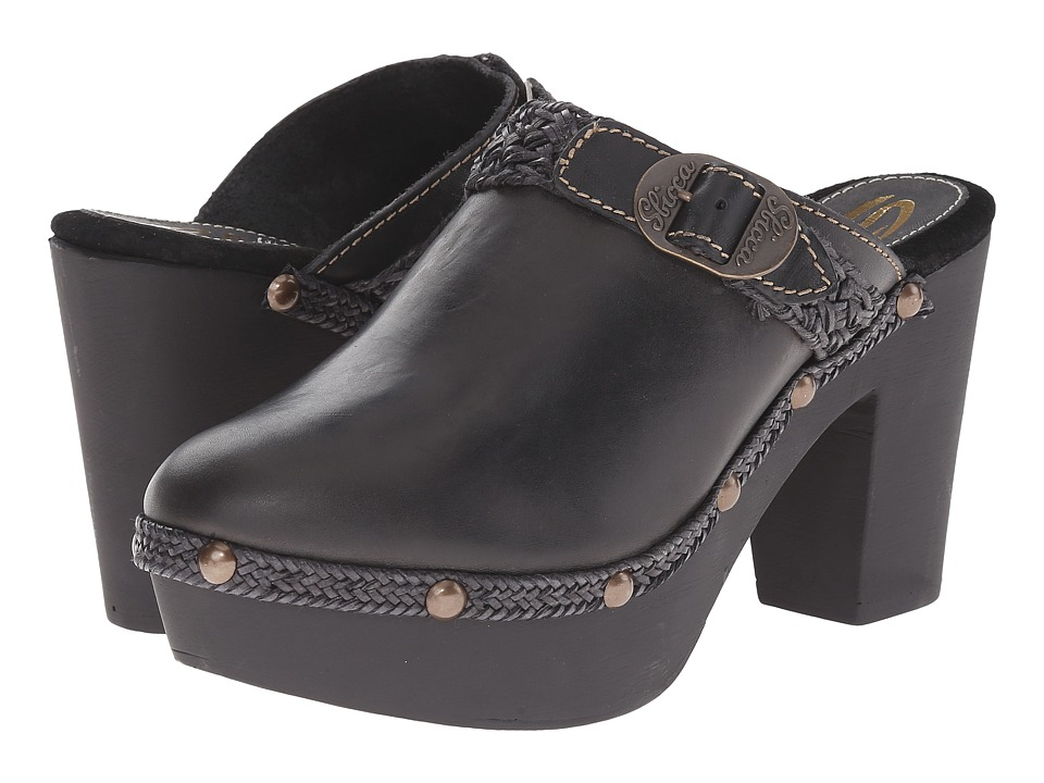 Sbicca - Tenor (Black) Women's Clog Shoes